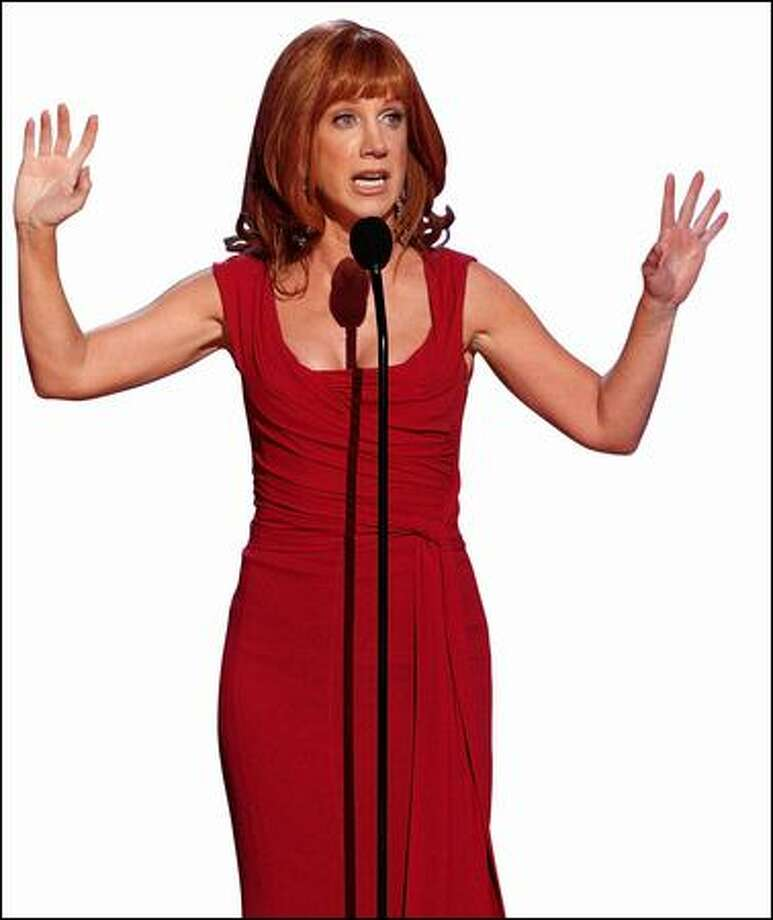 Kathy Griffin is Us Weekly come to life with a Chicago accent and a filthy mouth. Photo: Getty Images / Getty Images