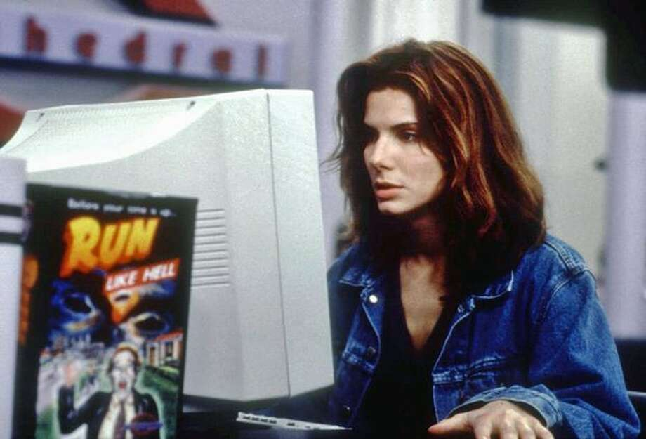 "Sandra Bullock in the 1995 cyberthriller ""The Net."" Photo: Columbia Pictures / Columbia Pictures"