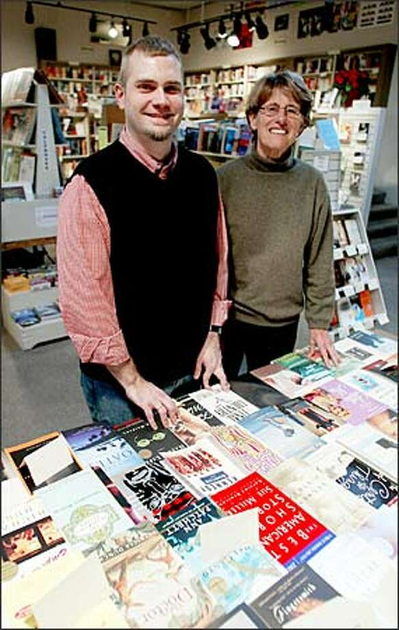 As Michael Wells takes over ownership of Bailey/Coy Books from Barbara Bailey, he will be looking for a nearby Capitol Hill site to hold some of the store's author events. Photo: Paul Joseph Brown, Seattle Post-Intelligencer / Seattle Post-Intelligencer