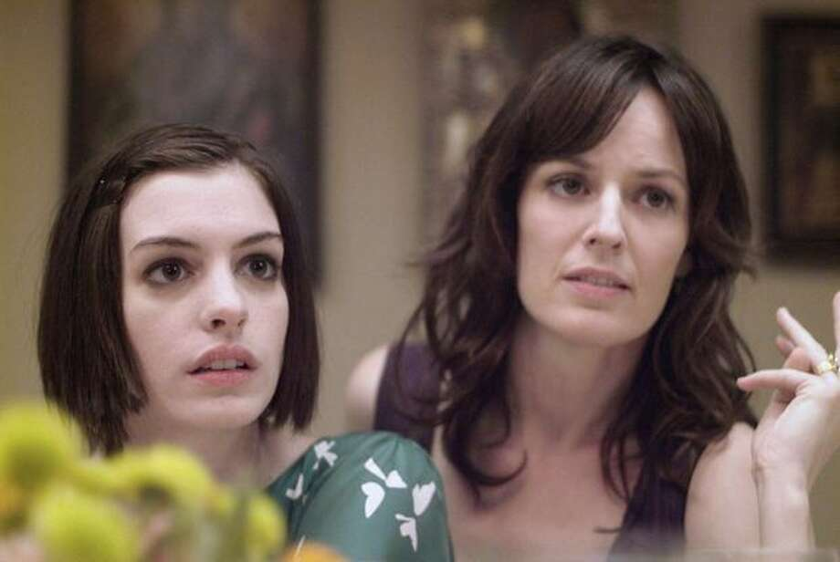 "Anne Hathaway (left) and Rosemarie DeWitt in ""Rachel Getting Married."" Photo: Sony Pictures Classics / Sony Pictures Classics"