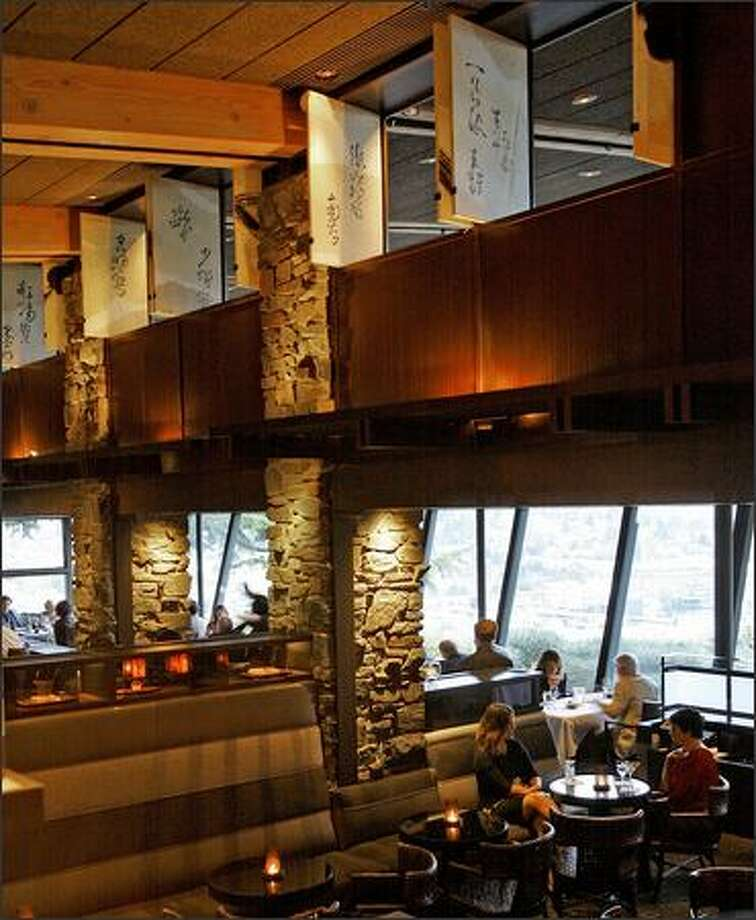 A view of the lounge and dinning areas at Canlis. Photo: Gilbert W. Arias, Seattle Post-Intelligencer / Seattle Post-Intelligencer