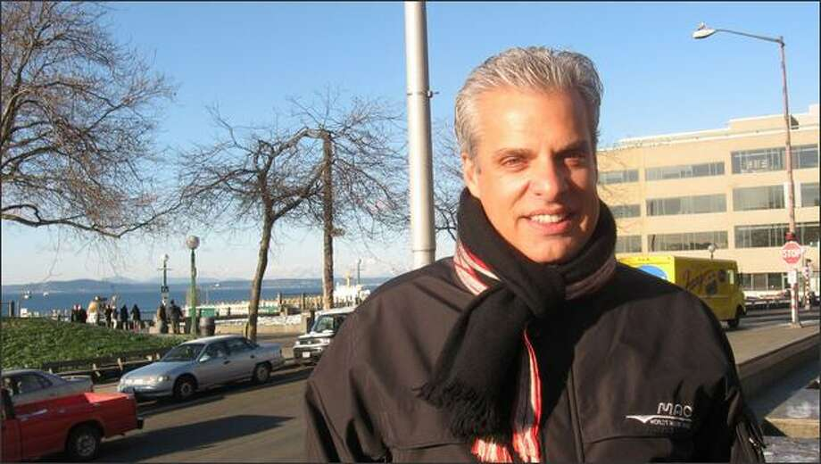 "Renowned chef Eric Ripert popped by Pike Place Market during a recent Seattle promotional visit for his book ""On the Line."""