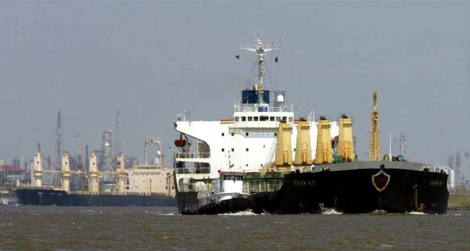 The Texas Commission on Environmental Quality thinks the prevalence of the shipping industry may be partly responsible for the sulphur problem in Southeast Texas. Enterprise file photo Photo: File / Beaumont