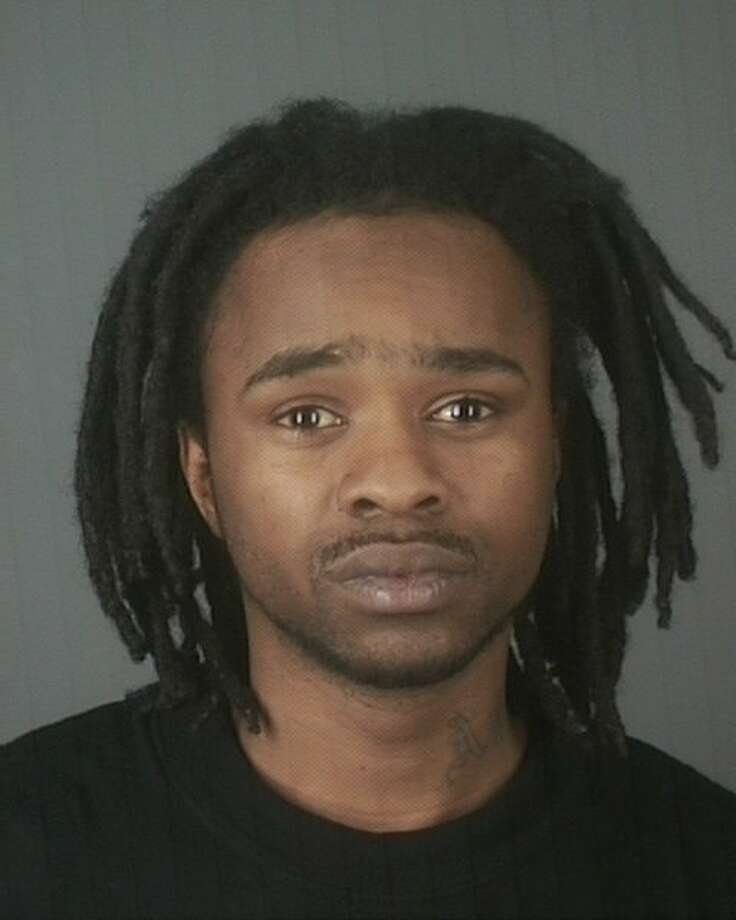 Jalah Wimberly, 28, of Scotia, was arrested on Tuesday, April 5, 2011, by Albany police and the U.S. marshal's fugitive task force after police said they linked Wimberly and his brother to the robbery of the Stadium Deli on Ontario Street in Albany. (Albany Police Department)