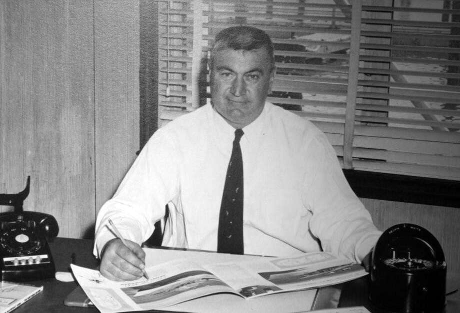Louis J. Gardella (1905 - 1995), the founder of Rex Marine Center in a photo from the 1950's Photo: Contributed Photo / Connecticut Post Contributed