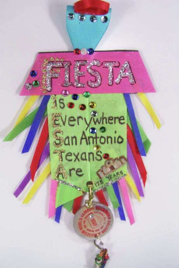 """The Royal Alamo Spirit Fiesta,"" by Virginia Burkholder Photo: Express-News"