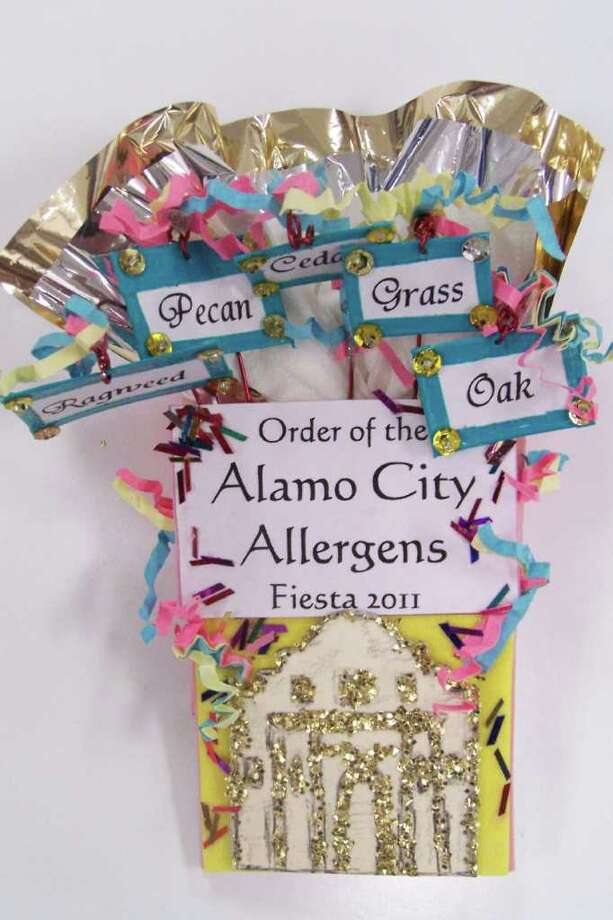 """Order of the Alamo City Allergens,"" by Jan Gonzales O'Neill Photo: Express-News"