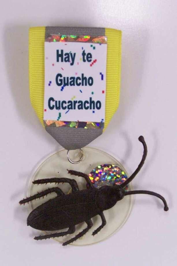 """Hay te Guacho Cucaracho & Fiesta,"" by Roy Saenz Photo: Express-News"