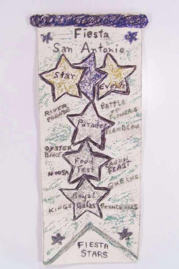 """Fiesta Stars,"" by Alberta L. Escobedo Photo: Express-News"