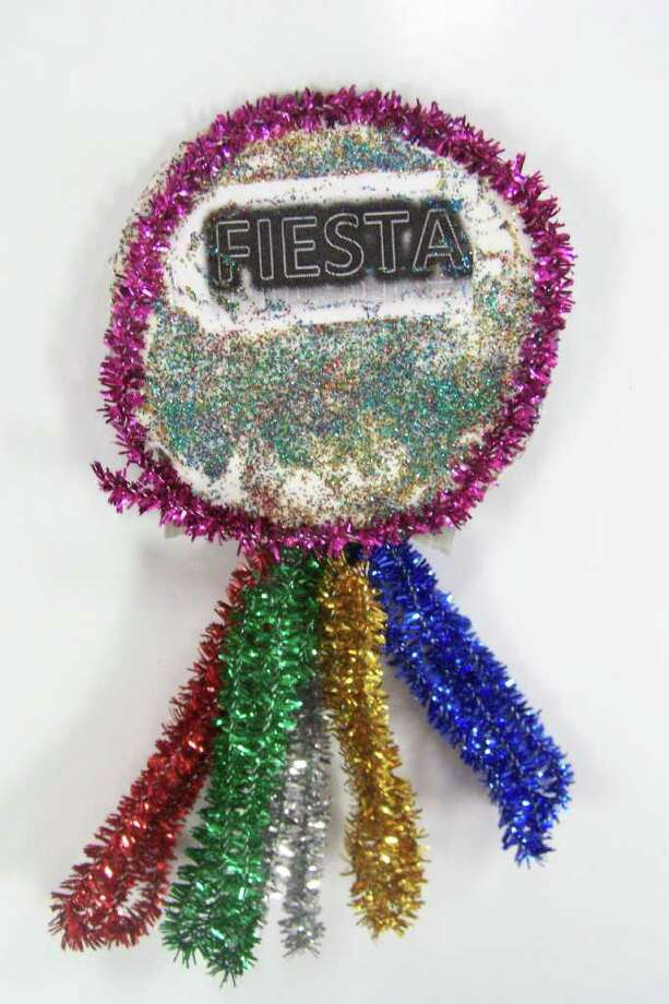 """Fiesta Glitz,"" by Sean Wright, 9 Photo: Express-News"