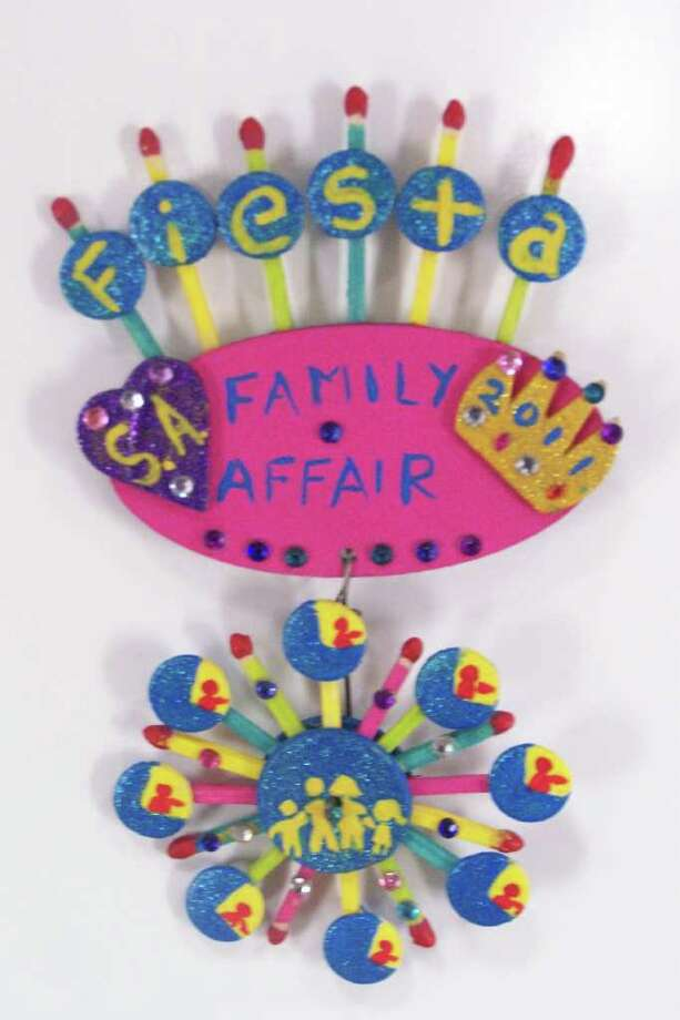 """Fiesta Family Affair Feris Wheel,"" by Grace Soria Photo: Express-News"