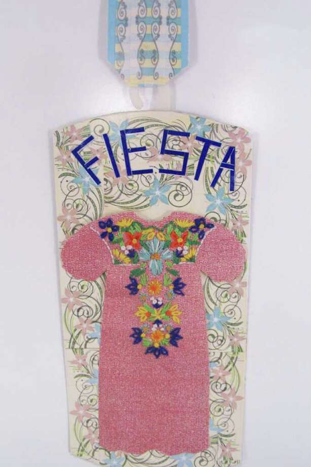 """Fiesta Dress,"" by Nancy Pruett Photo: Express-News"