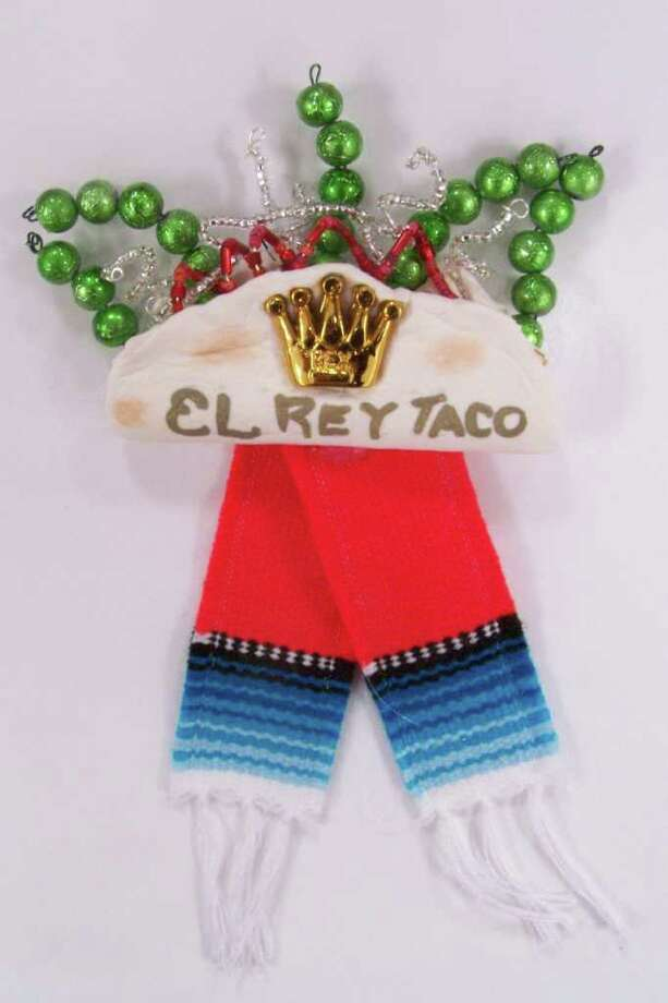 """""""El Rey Taco,"""" by Edward and Stella De La Garza Photo: Express-News"""