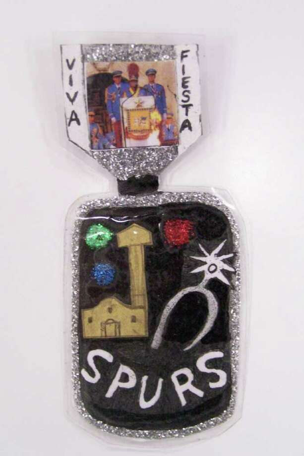 """A Great Combo: San Antonio Spurs and Viva Fiesta 2011,"" by Rudy Sifuentes Photo: Express-News"