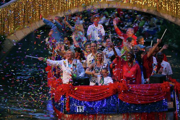 Actress Eva Longoria will be grand marshal at the Texas Cavaliers' River Parade.