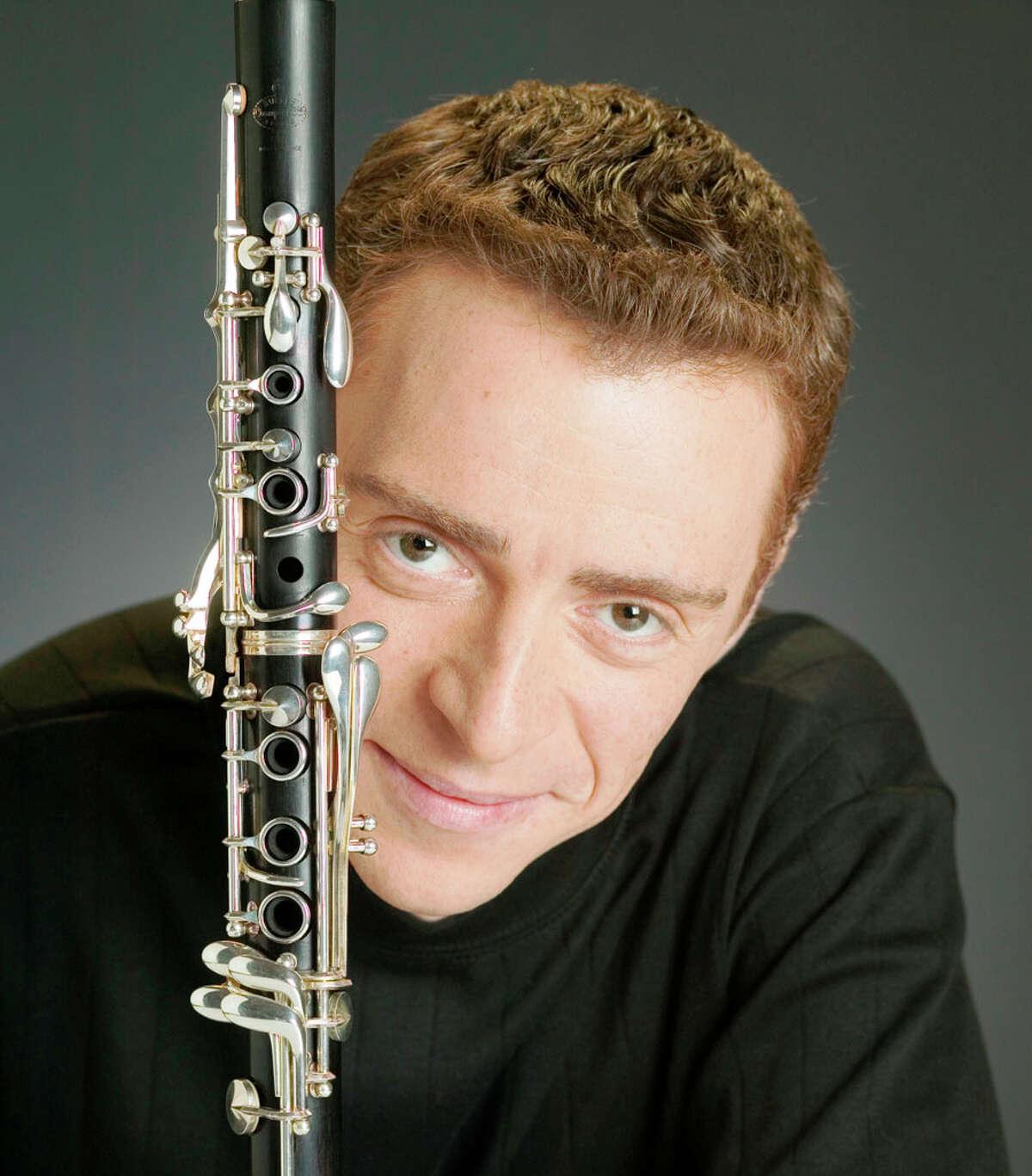 Clarinetist Ilya Shterenberg will be playing Mozart's Clarinet Concerto. COURTESY PHOTO