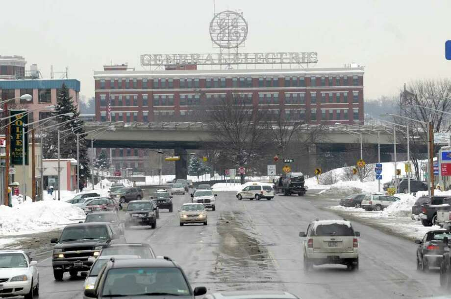 A view of the General Electric site in Schenectady, NY on Tuesday afternoon, Jan. 25, 2011.  (Paul Buckowski / Times Union) Photo: Paul Buckowski