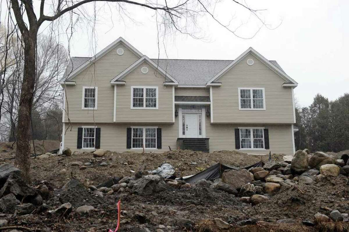 This is the home on Old Hawleyville Road that Mark Mansa was building in Bethel.