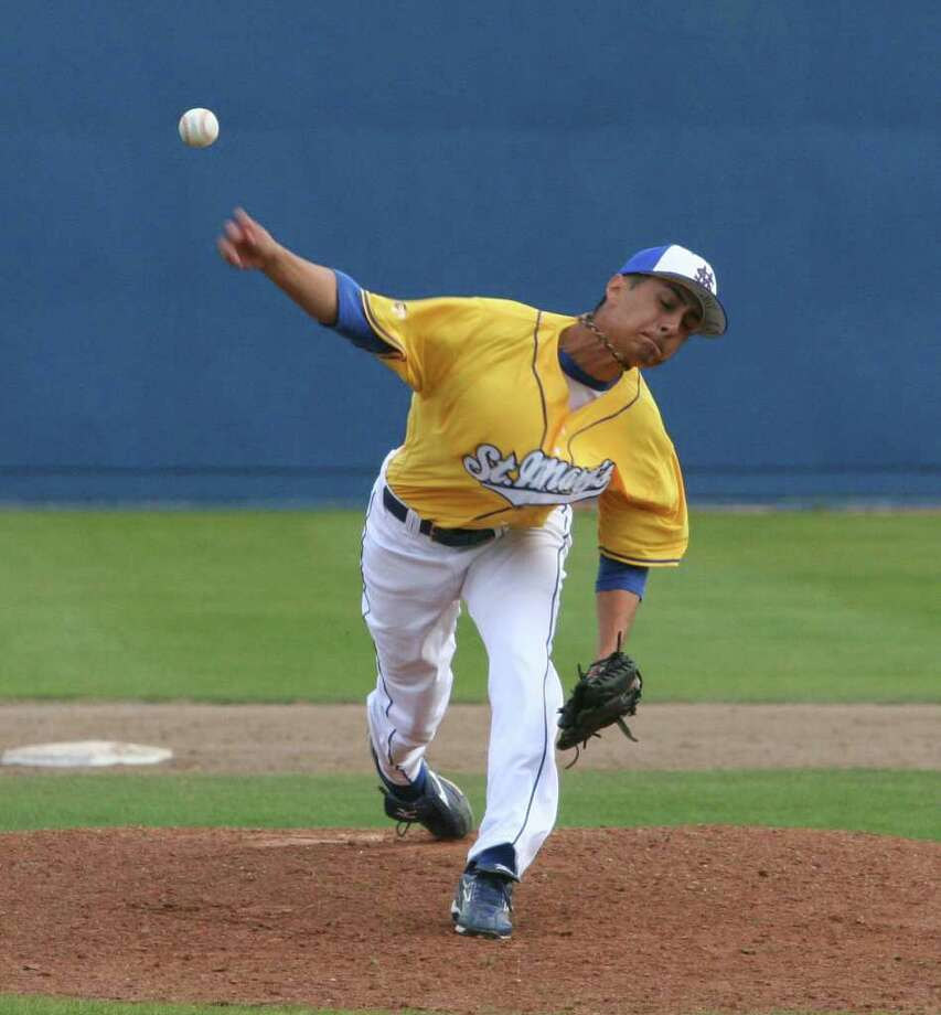St. Mary's closer Sammy Rivas has not allowed a run through 24 1/3 innings. Photo: Courtesy Photo