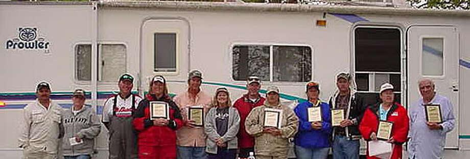 The Lake Sam Rayburn Winners Group Photo: Photo By 2US SE