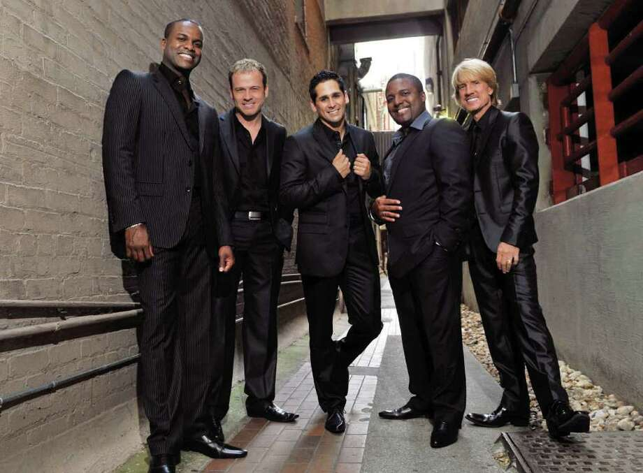 The a cappella group, Rockapella, will perform April 29 at Fairfield University's Quick Center. Photo: Contributed Photo