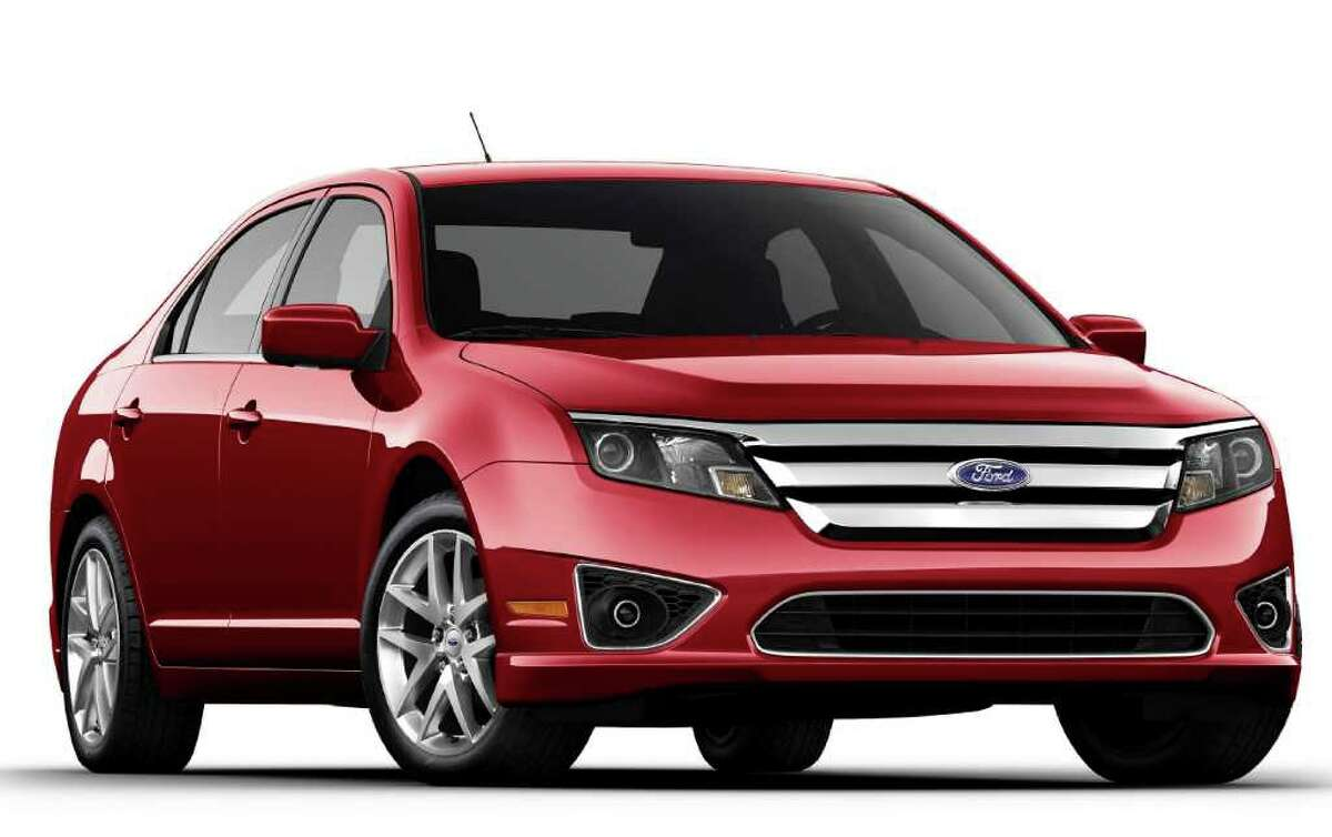 The 2011 Ford Fusion is available in this gasoline-electric hybrid version, as well as a regular gasoline-powered model.