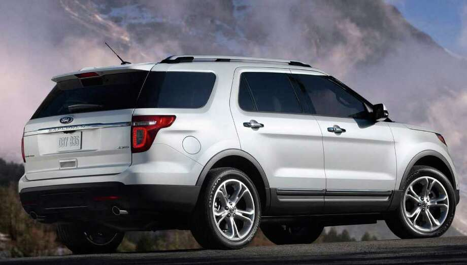 The new Ford Explorer will come with three rows of seating and a long list of standard equipment, including state-of-the-art safety features. Photo: Ford, COURTESY OF FORD MOTOR CO. / Ford