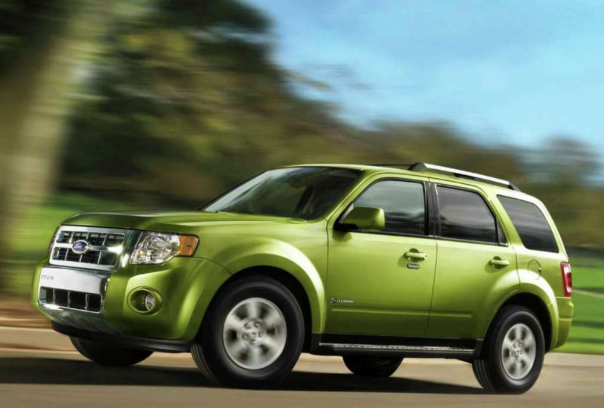 The 2011 Ford Escape hybrid is one of the most fuel-efficient SUVs available.