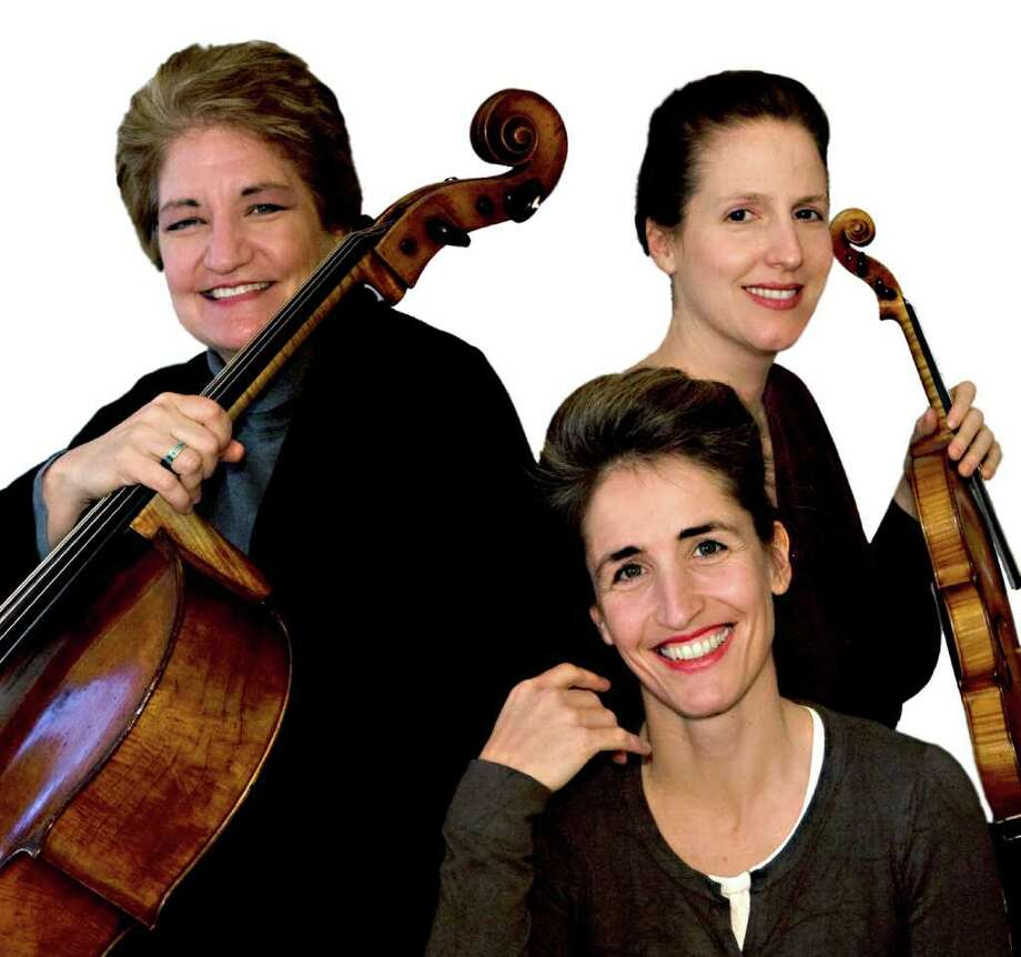 Lion's Gate Trio members, from left, Marcy Rosen, Florence Millet and Katie Lansdale Photo: Unknown, Contributed Photo