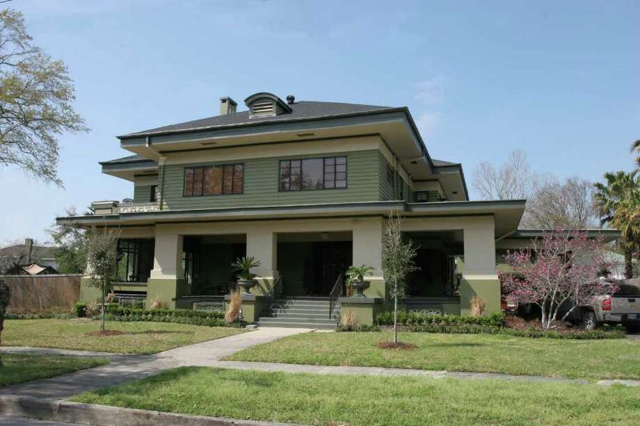 The Keith-Wiess home, which turns 100 years old this year, is the location of the 7th annual Oaks Historic District Preservation Bash on Saturday. Photo provided by the Oaks Historic District / Beaumont