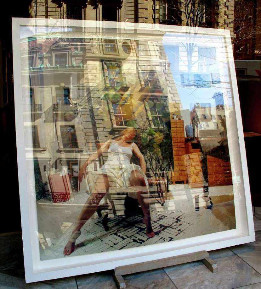 """Windows in Windows,"" a color photo by Barbara Murphy of Rowayton, was awarded Best In Show at an exhibition of high-quality photography and sculpture at the Rowayton Arts Center Gallery. Photo: Contributed Photo / Darien News"
