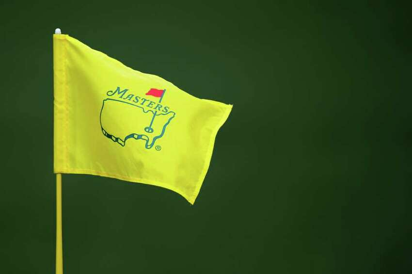 AUGUSTA, GA - APRIL 08: A Masters flagstick is seen during the second round of the 2011 Masters Tournament at Augusta National Golf Club on April 8, 2011 in Augusta, Georgia. (Photo by Harry How/Getty Images)