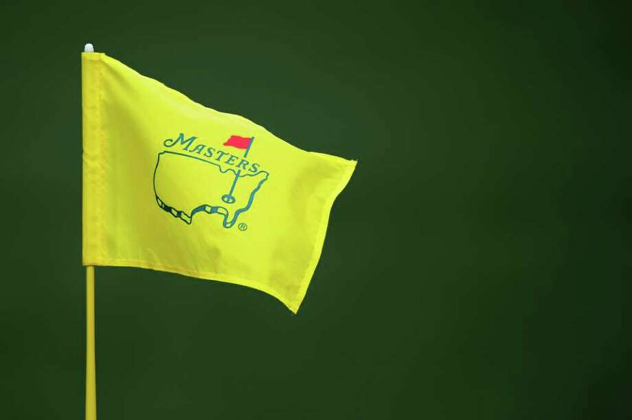 AUGUSTA, GA - APRIL 08:  A Masters flagstick is seen during the second round of the 2011 Masters Tournament at Augusta National Golf Club on April 8, 2011 in Augusta, Georgia.  (Photo by Harry How/Getty Images) Photo: Harry How, Getty Images / 2011 Getty Images