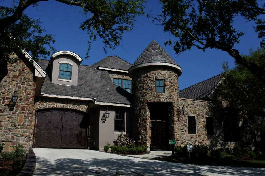 "Fairytale Chateau, a McCormick Custom Homes, LLC Property, is featured in Street of Dreams, a luxury home show in Fair Oaks Ranch. The home is wired with ""smart home"" technology. Photo: LISA KRANTZ, SAN ANTONIO EXPRESS-NEWS / SAN ANTONIO EXPRESS-NEWS"