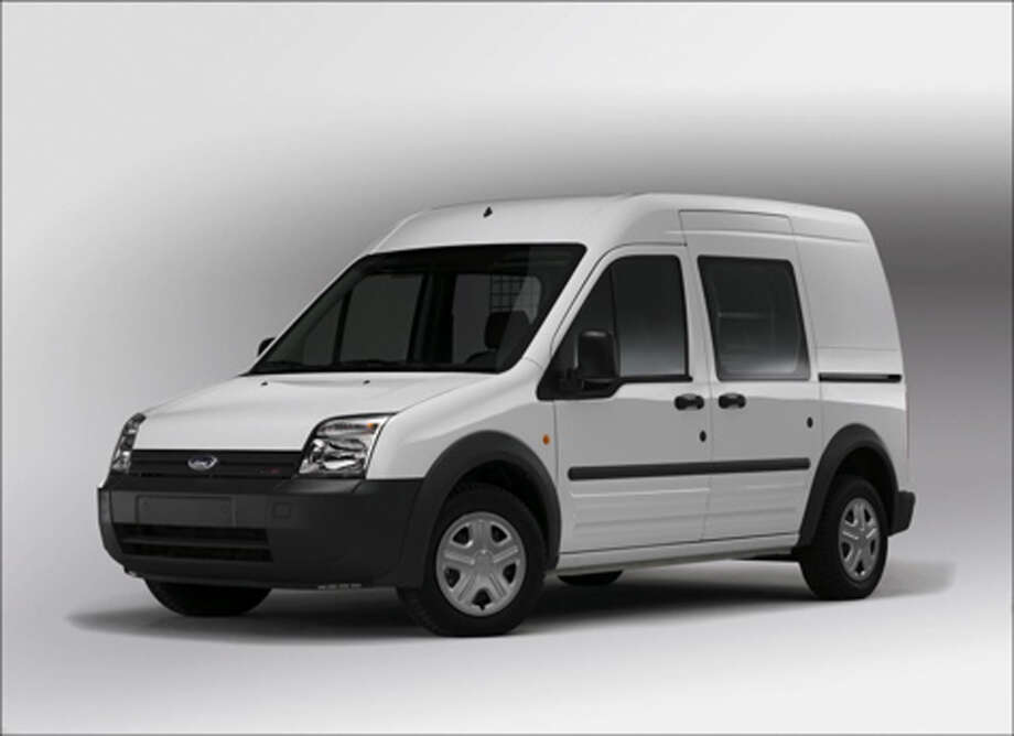 For cargo and delivery use, Ford has the compact Transit Connect van. Photo: COURTESY