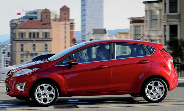 The new 2011 Fiesta subcompact helped significantly in Ford's recent increased monthly sales. Photo: COURTESY / © 2010 Ford Motor Company