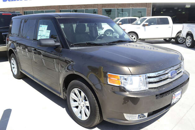 The Ford Flex is a full-size, eight-passenger crossover. Photo: COURTESY