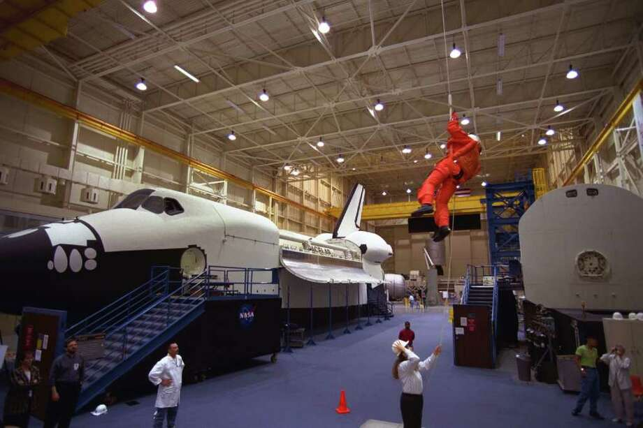 The space shuttle full-fuselage trainer seen at the Johnson Space Center, in Houston. Seattle's Museum of Flight is set to receive the trainer this year. Photo: Johnson Space Center