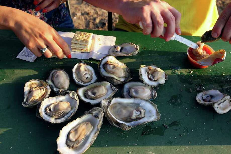 April 19-20:Fiesta Oyster Bake at St. Mary's University, One Camino Santa Maria. The event features more than 100,000 oysters, served raw, baked and fried.