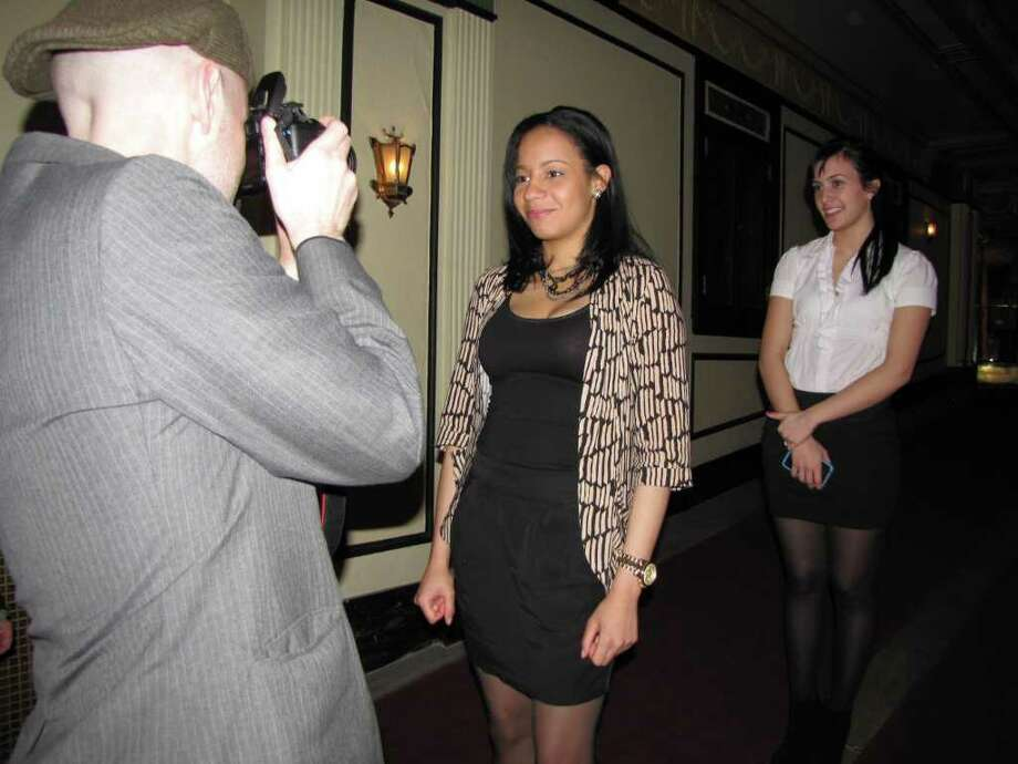 """Were you seen at the Connecticut Film Festival at the Palace Theater in Danbury CT on Friday, April 8, 2011?"" Photo: Vincent Rodriguez / The News-Times"