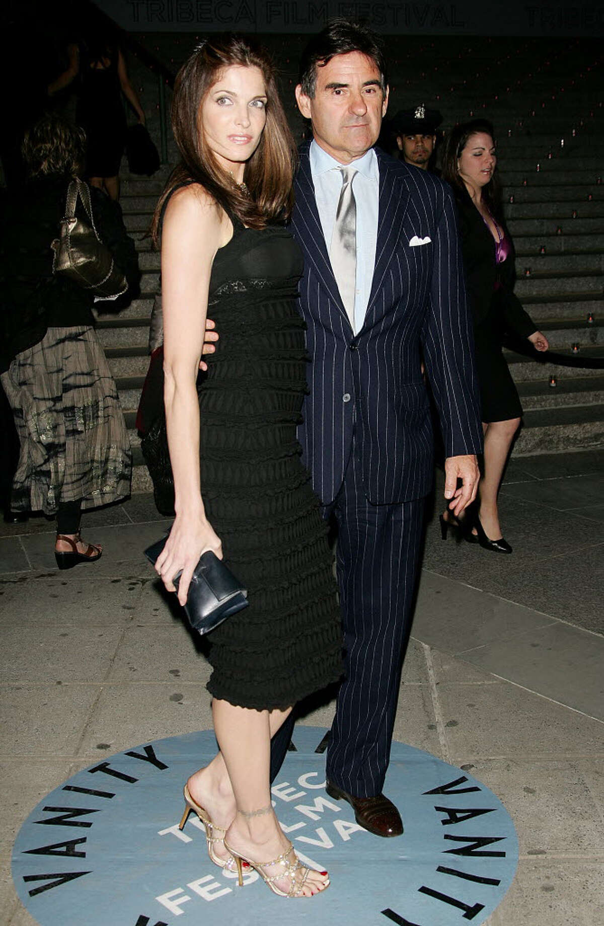 Stephanie Seymour and Peter Brant in New York City in 2007. The couple, once involved in a year-long bitter divorce battle, have reconciled.