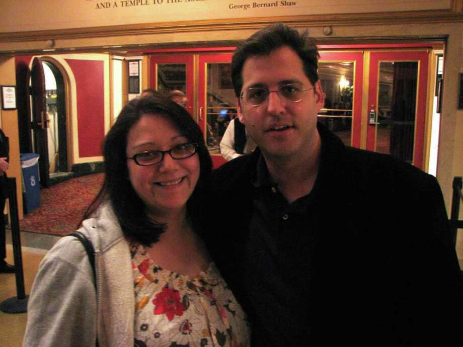 Were you seen at David Sedaris at Proctors? Photo: Michael Huber