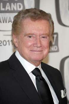 NEW YORK, NY - APRIL 10:  TV personality Regis Philbin attends the 9th Annual TV Land Awards at the Javits Center on April 10, 2011 in New York City.  (Photo by Michael Loccisano/Getty Images) Photo: Michael Loccisano, Getty Images / 2011 Getty Images