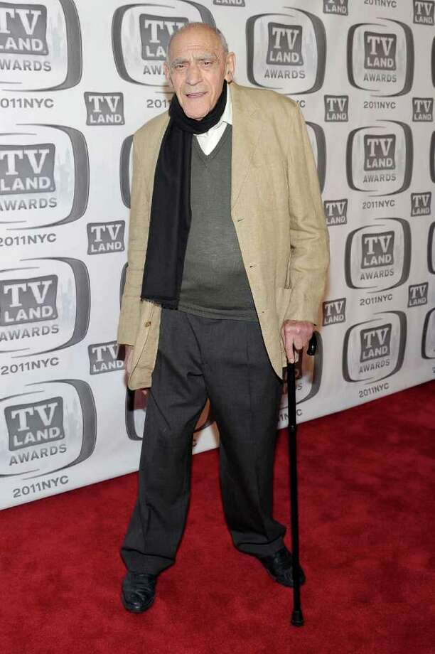 Actor Abe Vigoda attends.  (Photo by Michael Loccisano/Getty Images) *** Local Caption *** Abe Vigoda Photo: Michael Loccisano, Getty Images / 2011 Getty Images