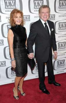 NEW YORK, NY - APRIL 10: Joy Philbin and TV personality Regis Philbin attends the 9th Annual TV Land Awards at the Javits Center on April 10, 2011 in New York City.  (Photo by Michael Loccisano/Getty Images) *** Local Caption *** Joy Philbin;Regis Philbin Photo: Michael Loccisano, Getty Images / 2011 Getty Images