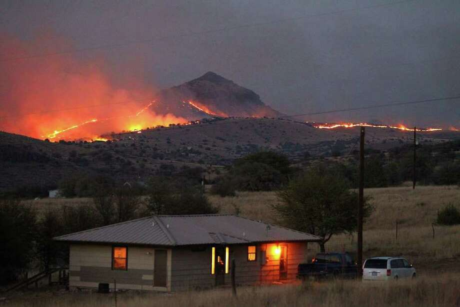 Fort Davis Tx >> Fort Davis Residents Shaken After Wildfire San Antonio