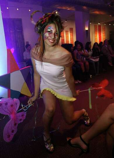 FEATURES; OTS TRENDS ACS FIESTA DO JMS; 04/08/11; Models rock the hair and makeup fashion show at Fi