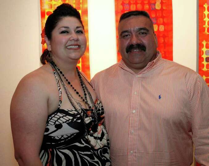 FEATURES; TRENDS FIESTA DO JMS; 04/08/11; From the left, Jennifer and Joe Mireles at Fiesta Do, Bene