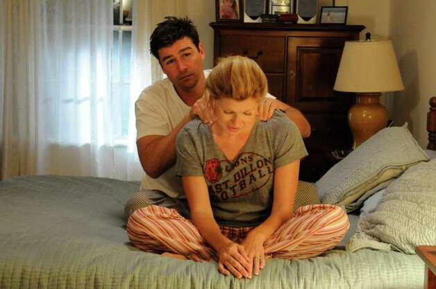 "Kyle Chandler and Connie Britton star in ""Friday Night Lights"" Photo: Bill Records / San Antonio Express-News"