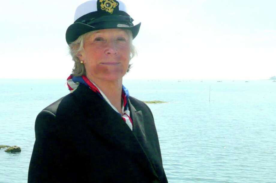 Susan Fisher, above, was recently named commodore at Indian Harbor Yacht Club, the first time in the club's 120-year history that a woman has held the post. Photo: Anne W. Semmes / Greenwich Citizen